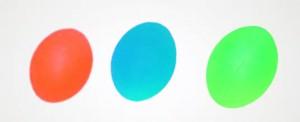 Мяч для массажа кисти яйцевидной формы