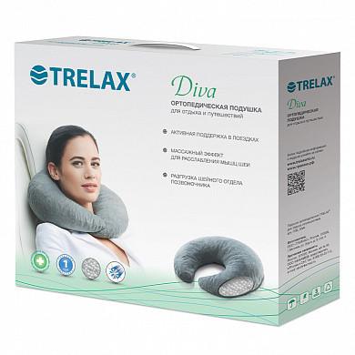 Подушка ортопедическая TRELAX DIVA П08