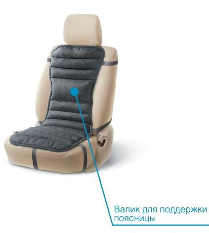 Ортопедический матрас TRELAX МА50/110 ЛЮКС на автомобильном сидении