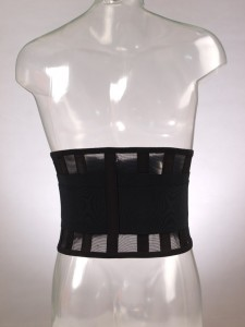 F 5501 Корсет поясничный с упругими пластинами из сетчатого материала