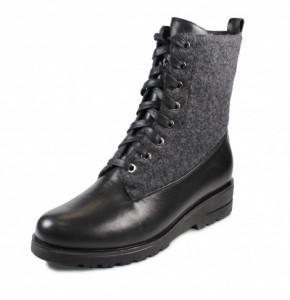 170403 Демисезонные ортопедические женские  ботинки