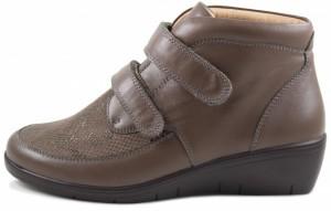 25102 Демисезонные ортопедические женские  ботинки