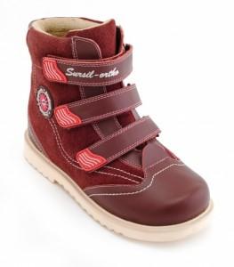 23-217 Детские ортопедические демисезонные ботинки Сурсил-Орто