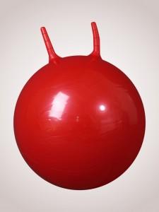 """Фитбол """"попрыгун"""" (диаметр 50 см) с насосом красный"""