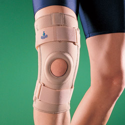1030 Ортопедический коленный ортез с боковыми шинами 1030