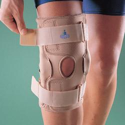 Ортопедический разъемный шарнирный коленный ортез 1032