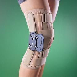 Ортопедический коленный ортез с боковыми шарнирами 2137