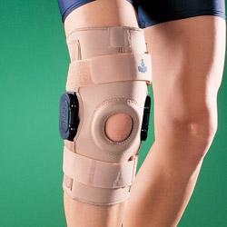 1036 Ортопедический коленный ортез с боковыми шарнирами