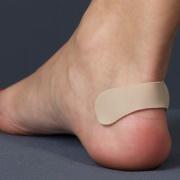 Протектор для защиты пятки с силиконовым слоем и тканевым покрытием Comforma